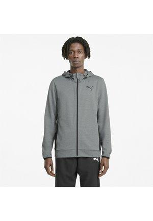 Zip-up hoodie - medium gray heather