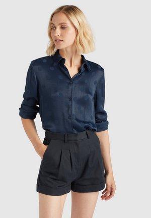 LARISA - Button-down blouse - dunkelblau