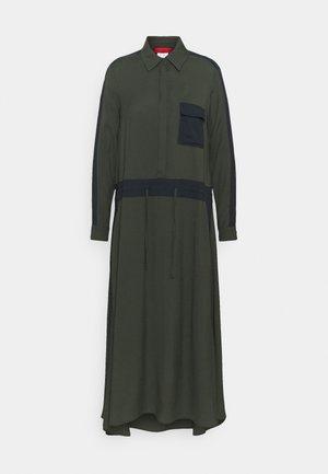 GLENDA - Shirt dress - khaki green