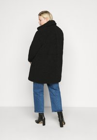 Noisy May Curve - NMGABI JACKET - Classic coat - black - 2