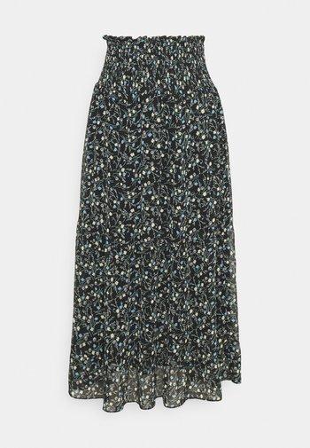 ALEXIO - Maxi skirt - black