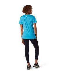 Smartwool - Print T-shirt - light ocean abyss heather - 1