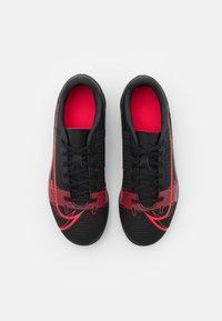 Nike Performance - MERCURIAL JR VAPOR 14 CLUB FG/MG UNISEX - Moulded stud football boots - black/cyber - 3