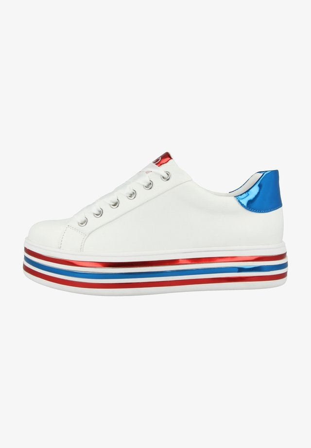 Sneakers laag - white multi