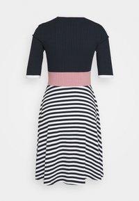 edc by Esprit - STRIPE DRESS - Jumper dress - navy - 1