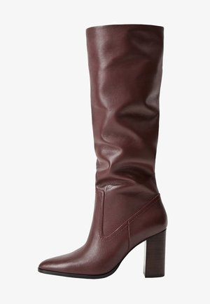 BOBY - High heeled boots - maroon