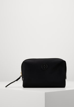 PERRY  SMALL COSMETIC CASE - Wash bag - black