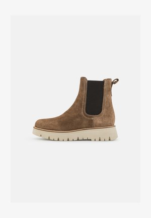 CLEO  - Platform ankle boots - sand
