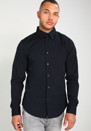 CORE SUPER SLIM - Camicia - black