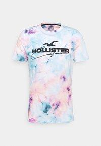 Hollister Co. - Print T-shirt - multicolo/blue - 4