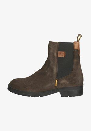 Korte laarzen - dark brown c