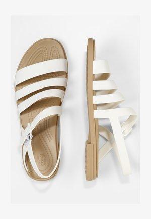 TULUM - Sandals - oyster/tan