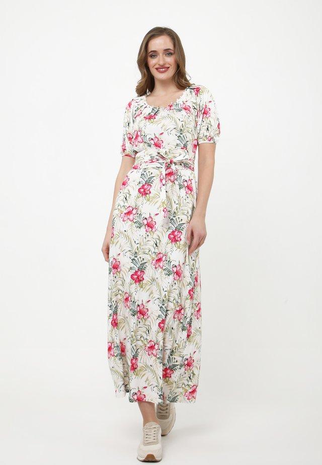 Robe longue - beige, rosa