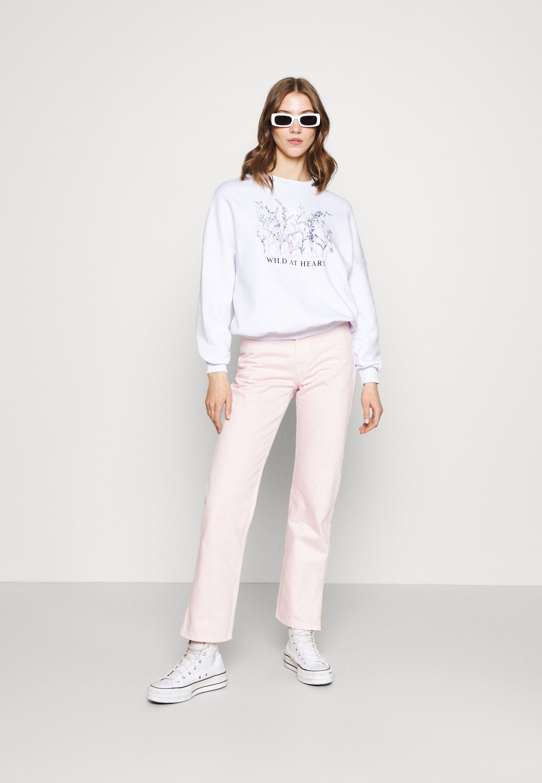 Women OVERSIZED PRINTED SWEATSHIRT - Sweatshirt