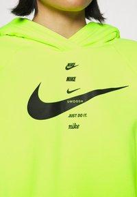 Nike Sportswear - HOODIE - Hoodie - volt/black - 5