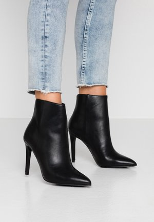 TULIPE - High heeled ankle boots - black