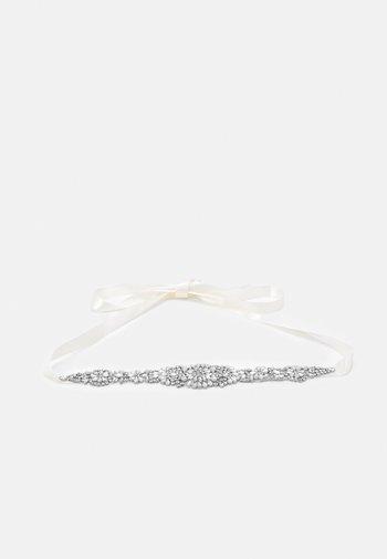 VERAEMBELISHED SASH BELT - Waist belt - ivory