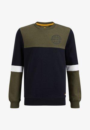 MET COLOURBLOCK - Sweatshirt - dark blue