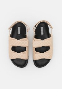 Nly by Nelly - QUILTED - Sandals - beige - 5