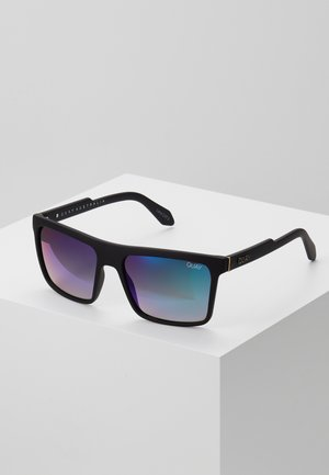 LET IT RUN - Sunglasses - matte black/navy
