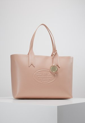 ZIP EAGLE - Handbag - carne nude