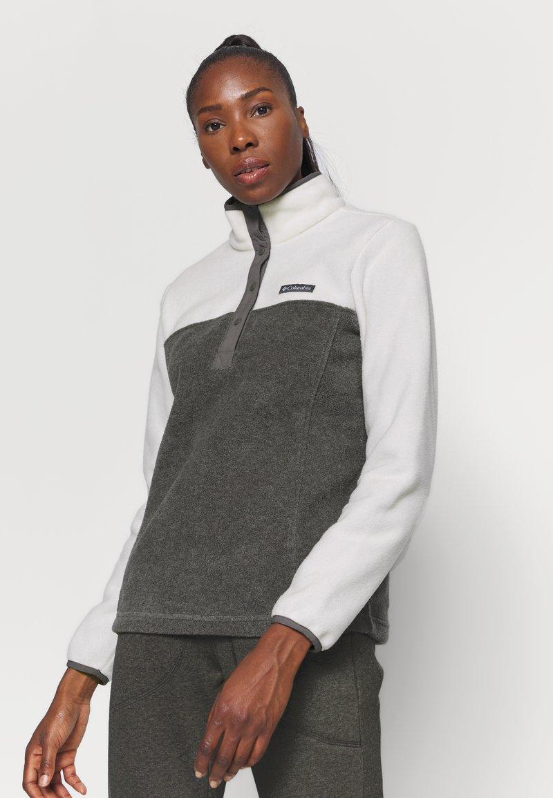 Columbia - BENTON SNAP - Fleece jumper - city grey heather/chalk