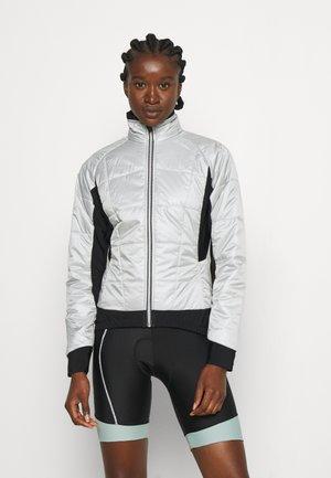 BIKE ISO JACKET HOTBOND - Zimní bunda - silver grey