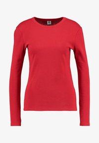 Petit Bateau - Long sleeved top - dark red - 4