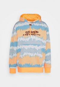 adidas Originals - HOODY UNISEX - Sweatshirt - hazy orange/multicolor - 3
