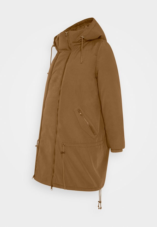 TIKKA MADDY 2IN1 PADDED JACKET  - Parka - friar brown