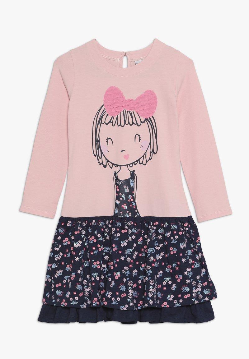 happy girls - GIRL - Žerzejové šaty - rose
