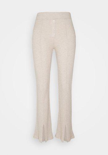 Trousers - oatmeal