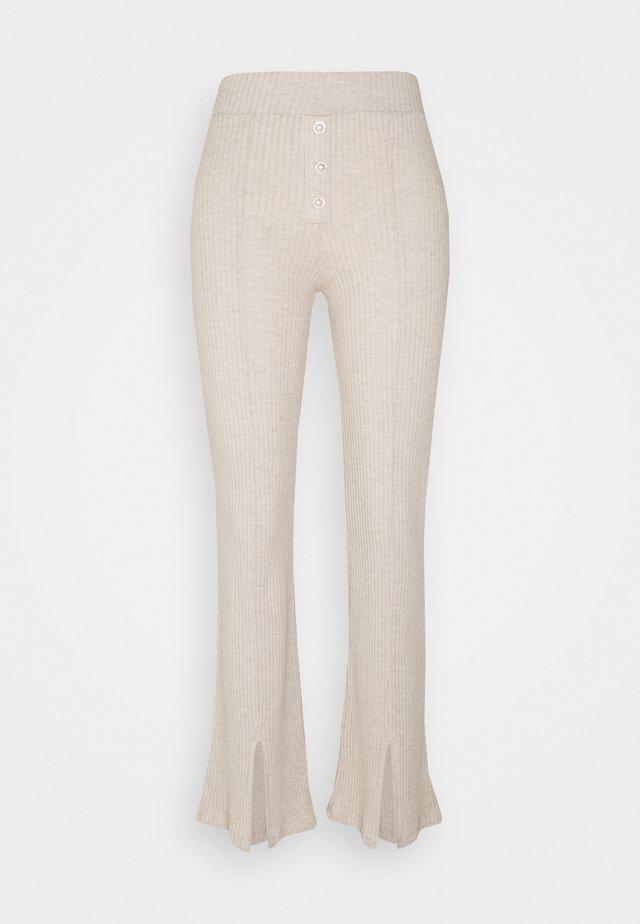 Kalhoty - oatmeal