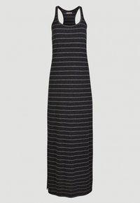 O'Neill - Vestito lungo - black with white - 13