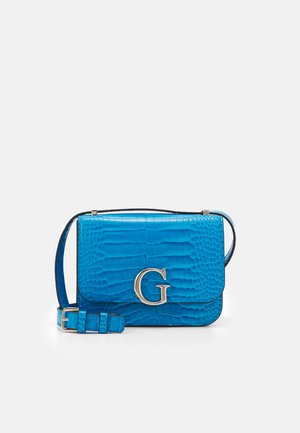 HANDBAG CORILY CONVERTIBLE XBODY FLAP - Bandolera - blue