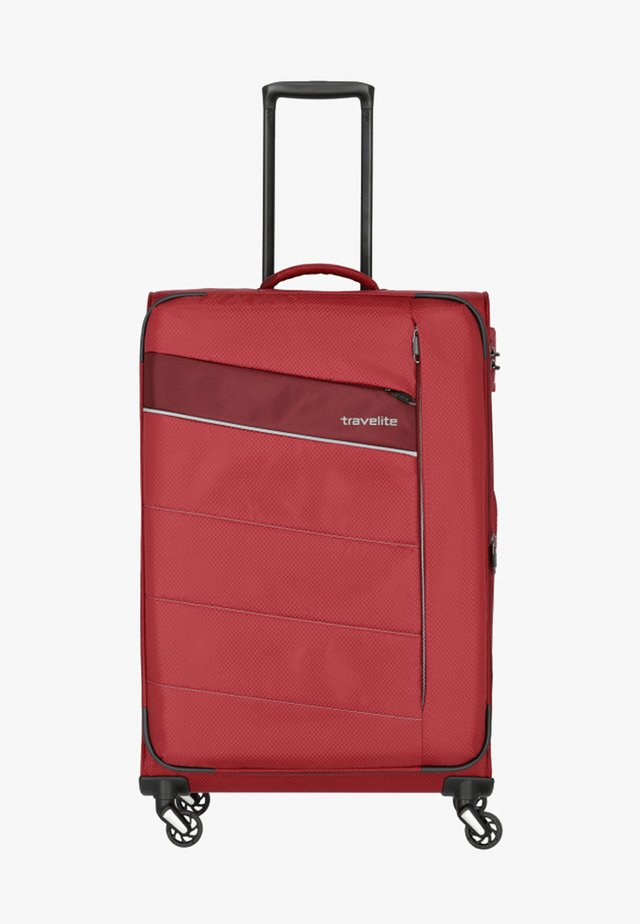 KITE  - Wheeled suitcase - red