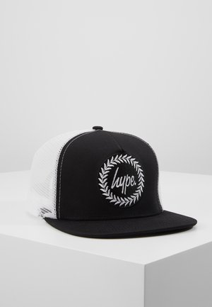 CAP - BLACK TRUCKER - Lippalakki - black