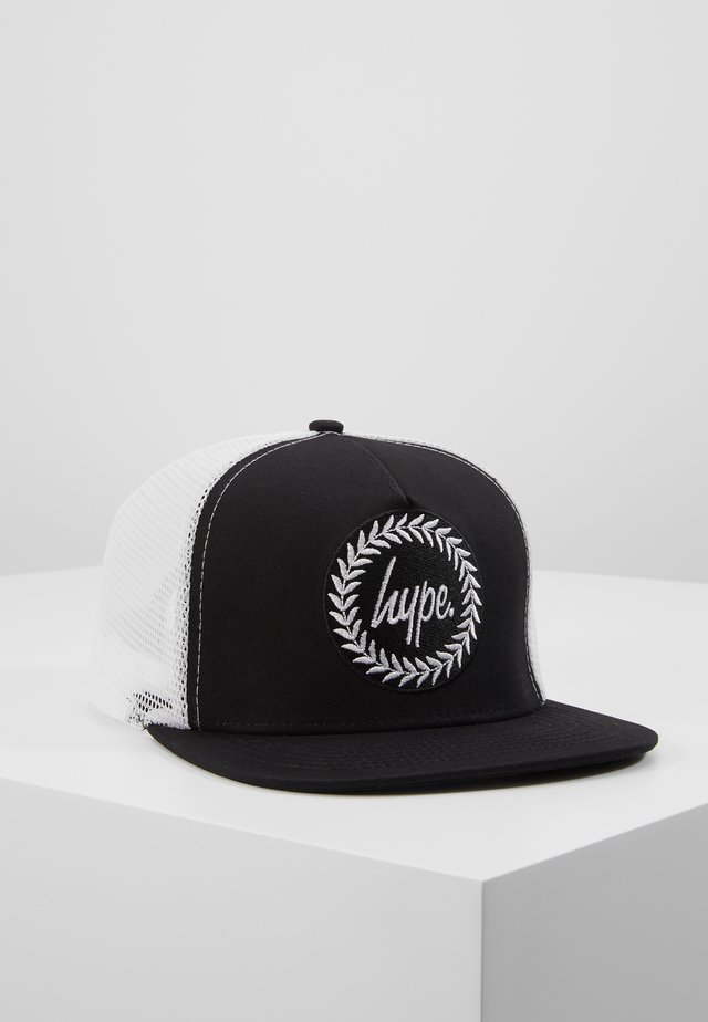 CAP - BLACK TRUCKER - Pet - black