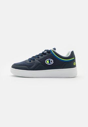LOW CUT SHOE NEW REBOUND UNISEX - Basketball shoes - navy/blue