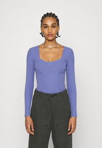 Monki - VINNIE  - Long sleeved top - lilac purple medium dusty - 0