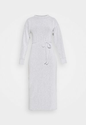 COSEY BELTED MIDI - Jumper dress - grey