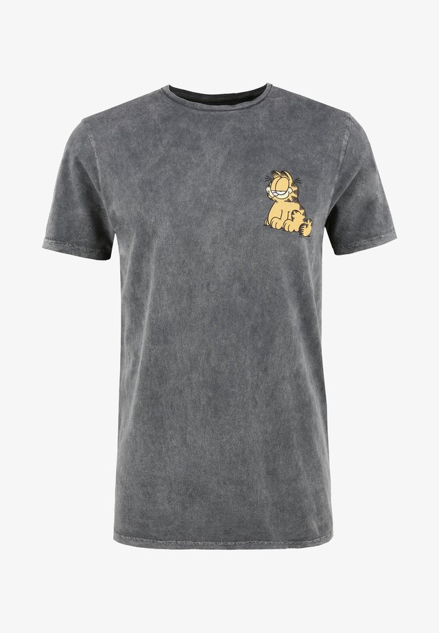 GARFIELD - T-shirt print - grau