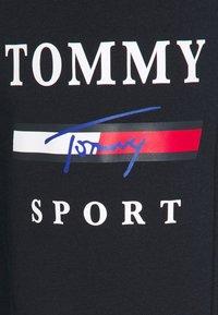 Tommy Hilfiger - GRAPHIC PANT CUFFED - Pantalon de survêtement - blue - 4
