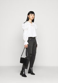 Glamorous Petite - LADIES  WASHED - Jean slim - black - 1