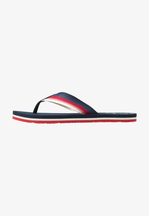 SUSTAINABLE BEACH - T-bar sandals - twilight navy