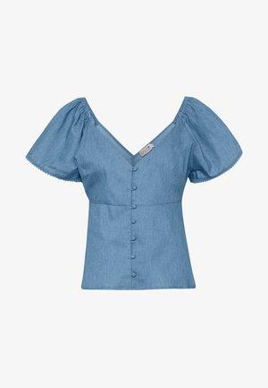 LADIES WOVEN - Bluse - light denim