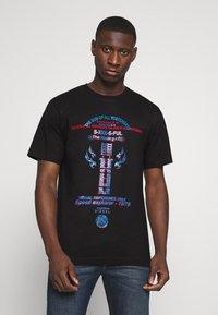 Diesel - TUBOLAR - Print T-shirt - black - 0