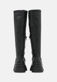 ALDO - MAJORR - Platform boots - other black - 4