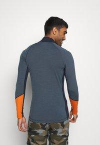 Peak Performance - MAGIC HALF ZIP - Long sleeved top - blue steel - 2