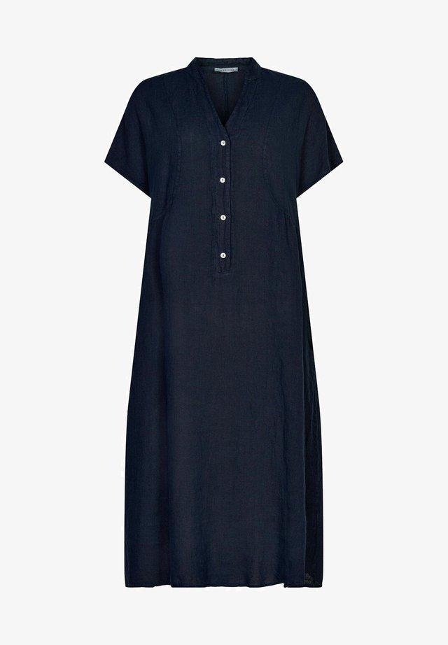LIN - Skjortklänning - navy